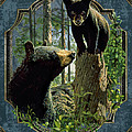 Mom and Cub Bear Poster by JQ Licensing