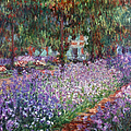 MONET: GIVERNY, 1900 Print by Granger