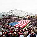 Montana Washington-Grizzly Stadium Poster by University of Montana