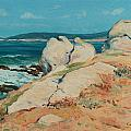 Monterey Coast Print by Guy Rose