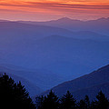 Morning Colors in the Smokies Poster by Andrew Soundarajan