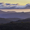 Morning on the Blue Ridge Parkway Poster by Rob Travis