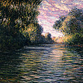 Morning on the Seine Print by Claude Monet