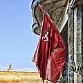 Morocco Flag I Poster by Chuck Kuhn