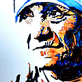 Mother Teresa Print by Steven Ponsford