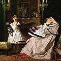Motherly Love Poster by Gustave Leonard de Jonghe