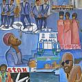Motown Commemorative 50th Anniversary Poster by Kenji Tanner