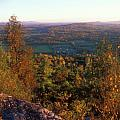 Mount Philo Foliage View Poster by John Burk