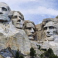 Mount Rushmore National Monument Poster by Jon Berghoff