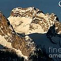 Mountain Christmas Austria Europe Print by Sabine Jacobs