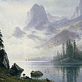 Mountain out of the Mist Print by Albert Bierstadt