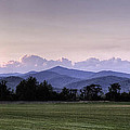 Mountain Sunset - North Carolina Landscape Poster by Rob Travis