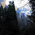 Mountains of Yosemite . 7D6214 Poster by Wingsdomain Art and Photography