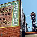 Movie sign 1 Poster by Marilyn Hunt