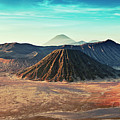 Mt. Bromo, Indonesien Close-up Print by Daniel Osterkamp