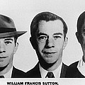 Mug Shots Of Willie Sutton 1901-1980 Poster by Everett