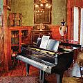 Music - Piano - It's a long long way to tipperary Print by Mike Savad