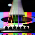 Music Is A Rainbow To The Heart Poster by Andee Design