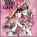 My Fair Lady Print by Nomad Art And  Design