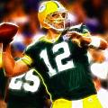 Mystical Aaron Rodgers Poster by Paul Van Scott