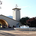 Napa Valley Winery . 7D9027 Print by Wingsdomain Art and Photography