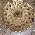 Nasrid Palace ceiling Poster by Jane Rix