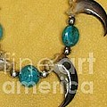 native necklace by Barb Keating Artist