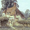 Near Witley Surrey Poster by Helen Allingham