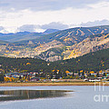 Nederland Colorado Scenic Autumn View Boulder County Poster by James BO  Insogna