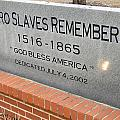 Negro Slaves Remembered Print by Warren Thompson