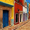 Neighbors of the Yellow House Poster by Olden Mexico