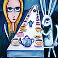 Never Ending Tea Party Poster by LEANNE WILKES