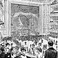 NEW YORK CHARITY BALL, 1884 Poster by Granger