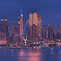 new york city Print by Kirit Prajapati