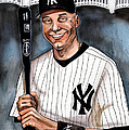 New York Yankee Derek Jeter by Dave Olsen