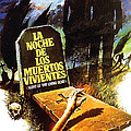 Night Of The Living Dead, Spanish Poster by Everett