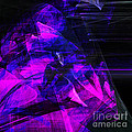 Night Rider . Square . A120423.936.693 Print by Wingsdomain Art and Photography