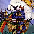 Noah's Ark Poster by Patricia Halstead