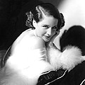 Norma Shearer, Ca. 1930s Poster by Everett