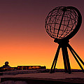 North Cape Norway at the northernmost point of Europe Print by Ulrich Schade