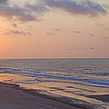 North Topsail Beach Glory Poster by Betsy A  Cutler