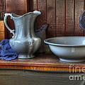 Nostalgia Wash Stand Print by Bob Christopher