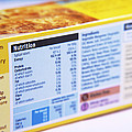 Nutrition Label Poster by Veronique Leplat