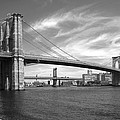 NYC Brooklyn Bridge Print by Mike McGlothlen