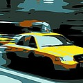 NYC Taxi Color 6 Poster by Scott Kelley