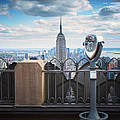 NYC Viewpoint Print by Nina Papiorek