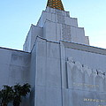 Oakland California Temple . The Church of Jesus Christ of Latter-Day Saints . 7D11364 Poster by Wingsdomain Art and Photography