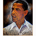 Obama. The 44th President. Poster by Fred Makubuya