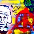 Occupy Einstein Print by TONY B CONSCIOUS
