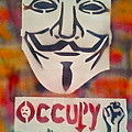 OCCUPY MASK Print by TONY B CONSCIOUS